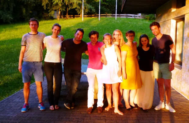 1_Group picture from first weekend of work at the youth hostel