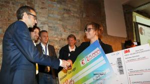 3_Our team member Ulrike Schuster at the Gründer-Garage award in Berlin